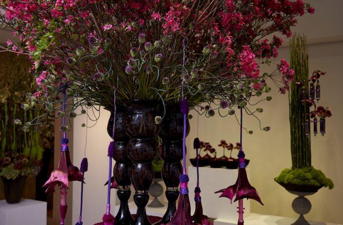 Fleurs imaginaires au Japon